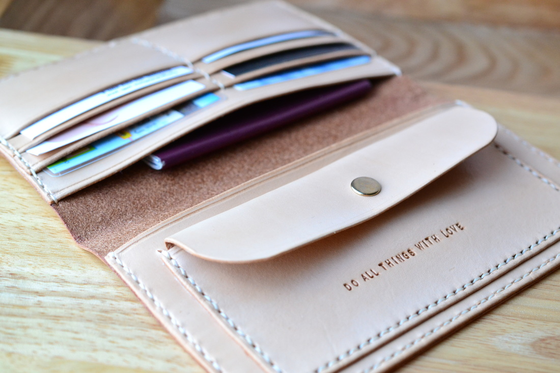 Custom made leather wallet, passport wallet, personalized leather wallet, woman wallet, unisex wallet