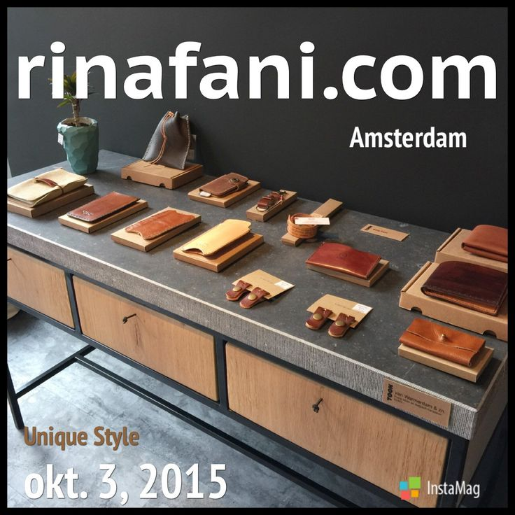 Leather accessories, Personalized leather wallets, iPhone sleeves by Rina Fani
