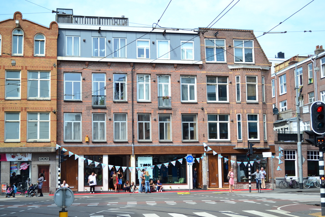 Toon concept shop Amsterdam